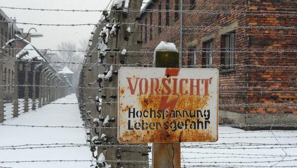 Открытие обновленной российской экспозиции в музее Освенцима