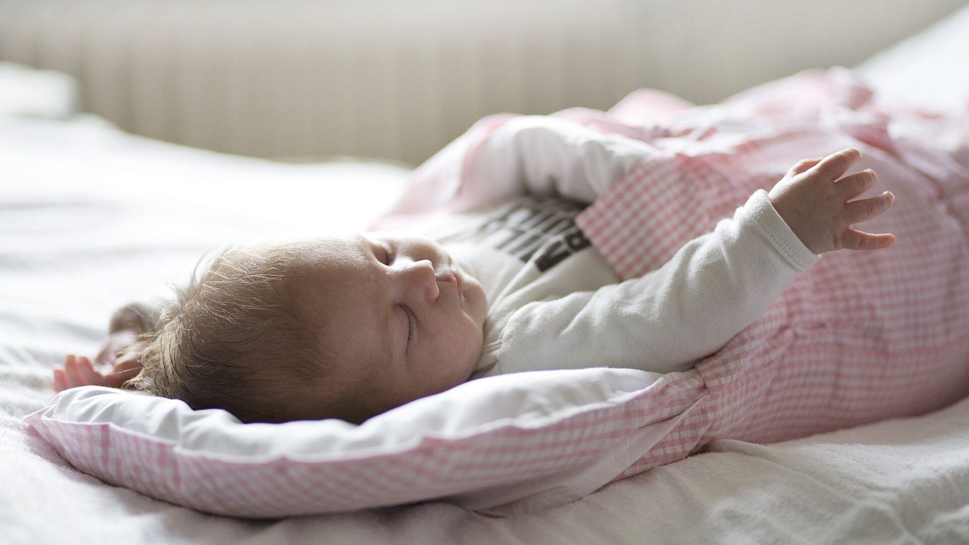 Новорожденный ребенок - РИА Новости, 1920, 07.03.2021