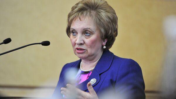 Председатель Московского городского суда Ольга Егорова. Архивное фото