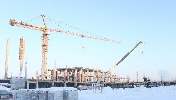 Строительство олимпийского бассейна в Томске