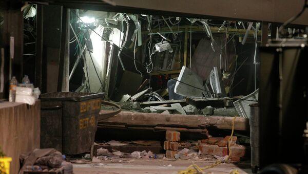 Последствия взрыва в здании Pemex в Мехико