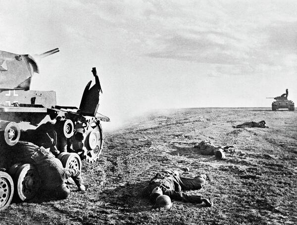 Танковые бои под Сталинградом