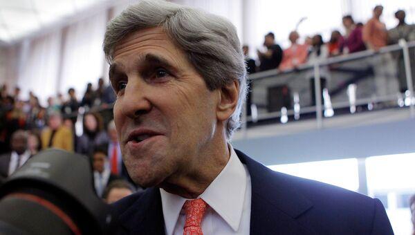 Джон Керри прибыл в госдепартамент в качестве госсекретаря США