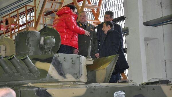 Командующий Воздушно-десантными войсками генерал-полковник Владимир Шаманов с рабочим визитом в г. Курган