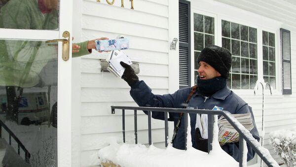 Работа почты США