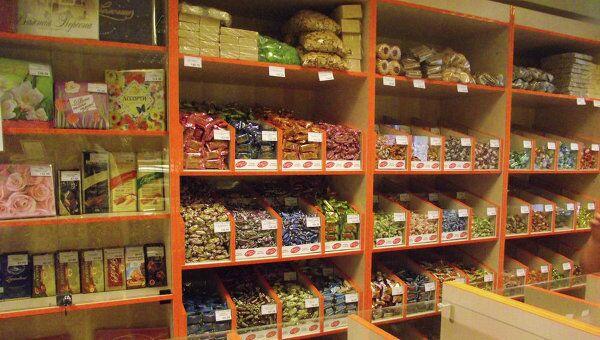 Фирменный магазин фабрики Красная звезда в Томске