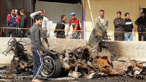 Взрыв в Ираке. Архивное фото