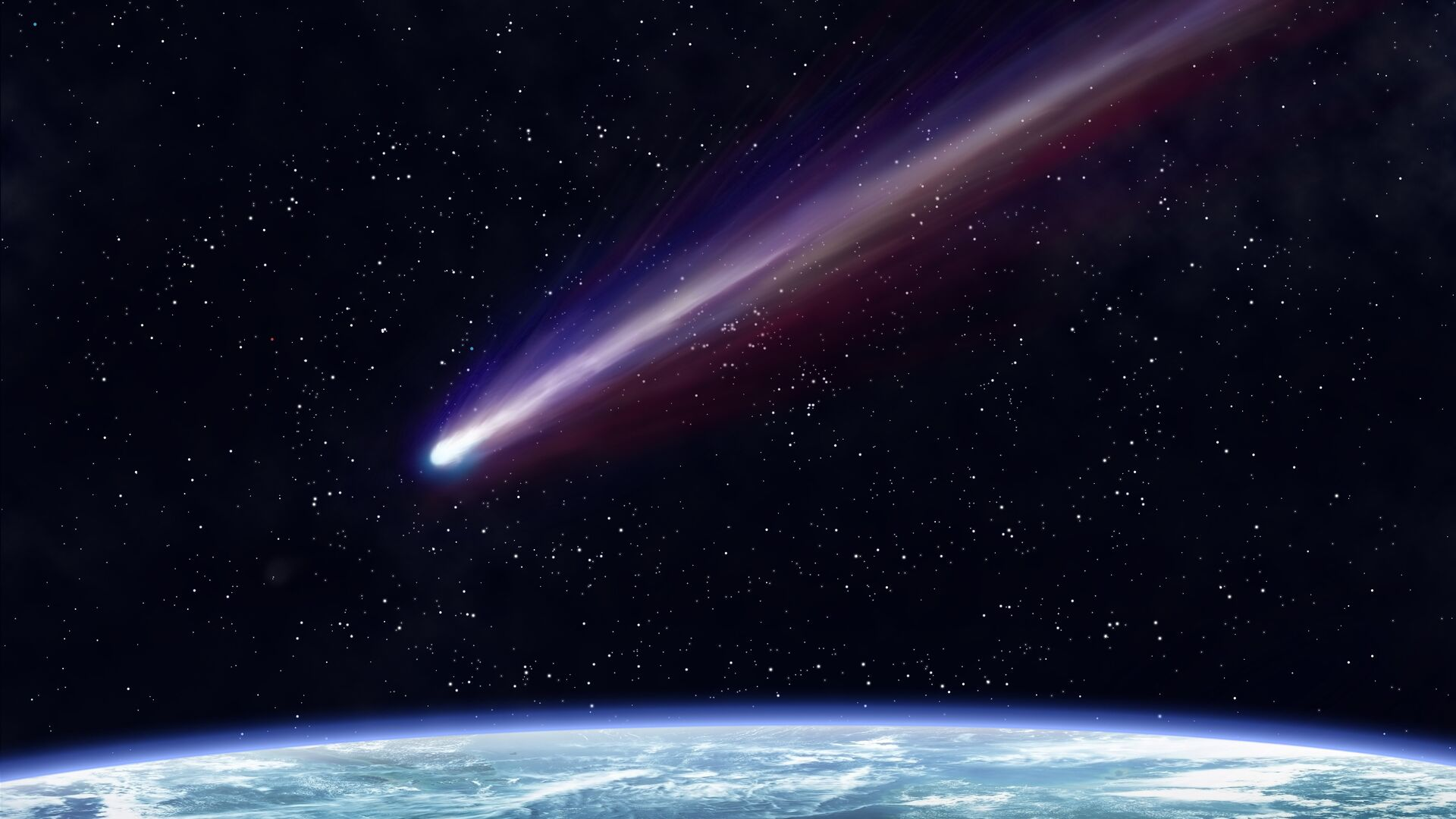 Комета около Земли - РИА Новости, 1920, 10.02.2021