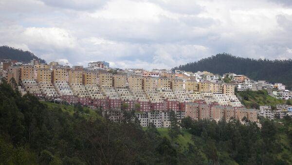 Кито, столица Эквадора. Архивное фото