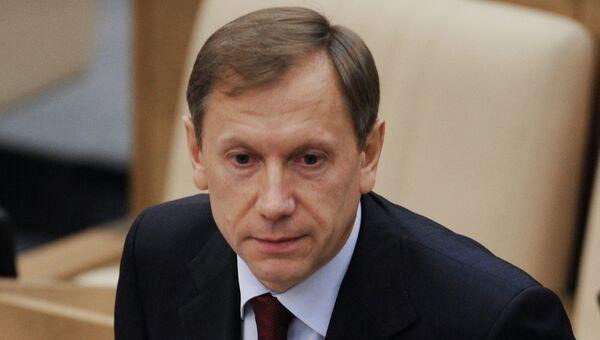 Глава комитета ГД по экономической политике Игорь Руденский. Архивное фото