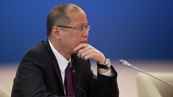 Президент Республики Филиппины Бенигно Акино III, архивное фото