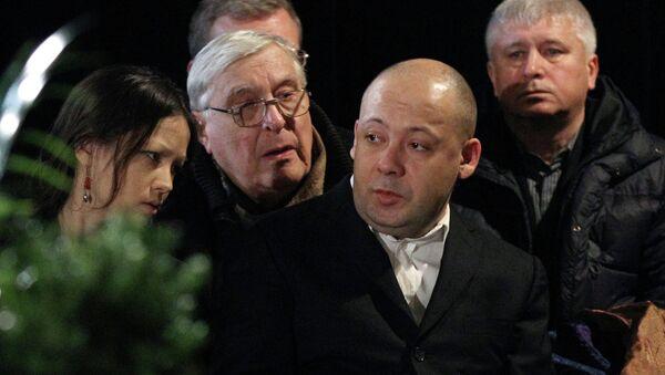 Прощание с режиссером Алексеем Германом