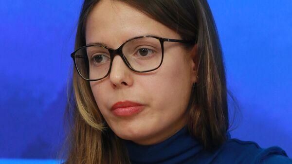 Бывший пресс-секретарь движения Наши Кристина Потупчик