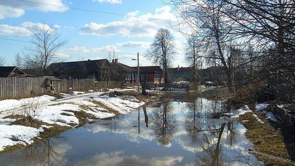 Паводок в Горном Алтае