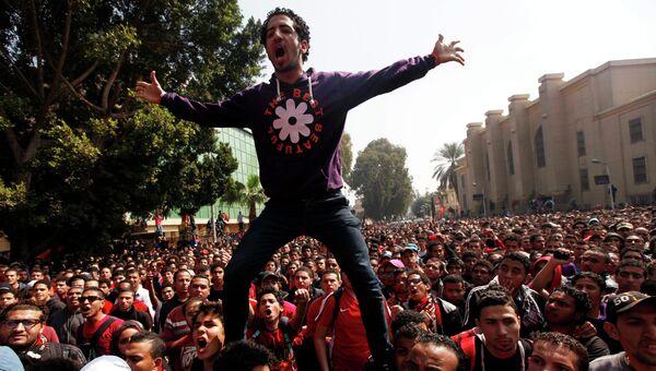 Демонстрация в египетском Порт-Саиде