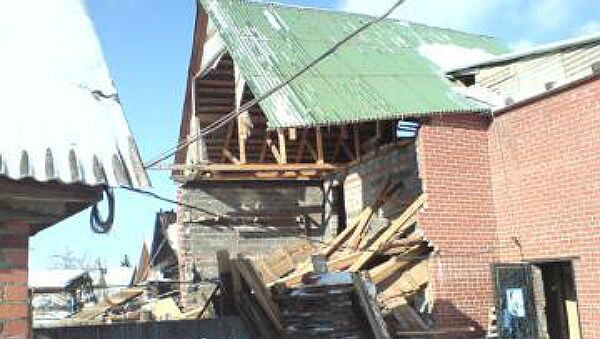 Взрыв в жилом доме в Свердловской области