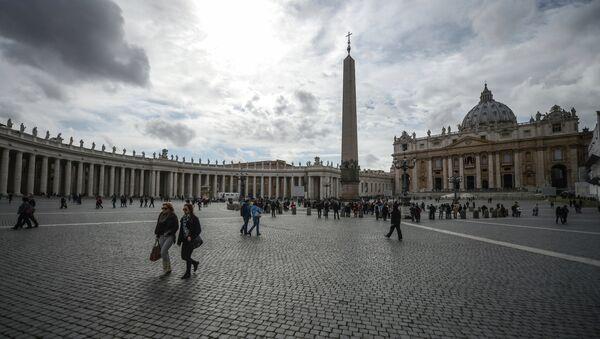 Собор площадь Святого Петра в Ватикане, архивное фото