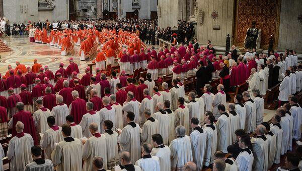 В Ватикане. Архивное фото