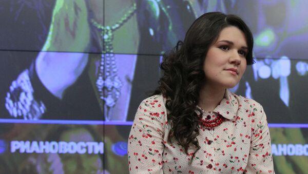 Презентация клипа участницы Евровидения Дины Гариповой