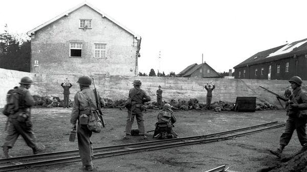 Расстрел немецких военнослужащих в Дахау