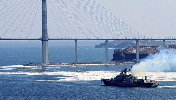 Большой десантный корабль (БДК) Пересвет. Архив