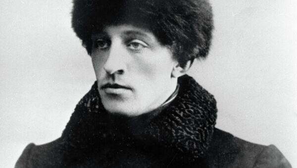 Русский поэт Александр Александрович Блок. Архивное фото