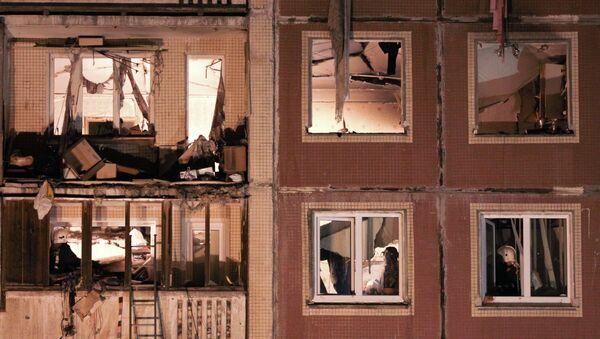Взрыв в жилом многоквартирном доме в Санкт-Петербурге