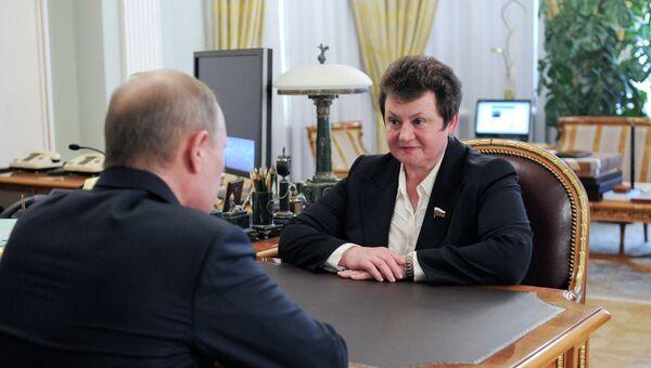 В.Путин назначил С.Орлову ВРИО губернатора Владимирской области