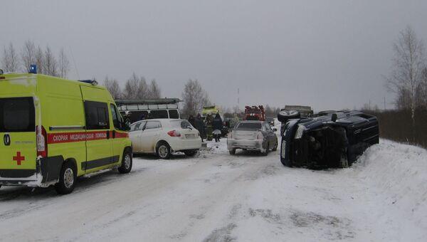 ДТП в Ивановской области