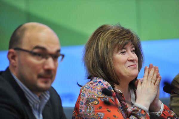 Андрей Мирошниченко и Анна Качкаева