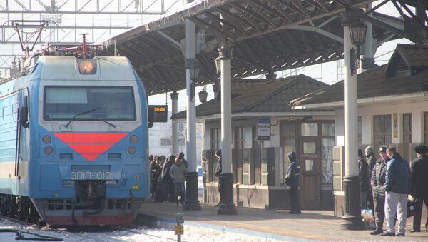 Поезд Красноярск — Ачинск — Абакан