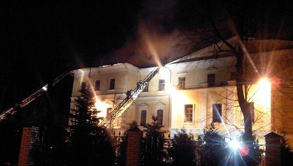 Пожар в здании ГИТИС