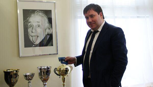 Глава Костромы Виктор Емец, архивное фото