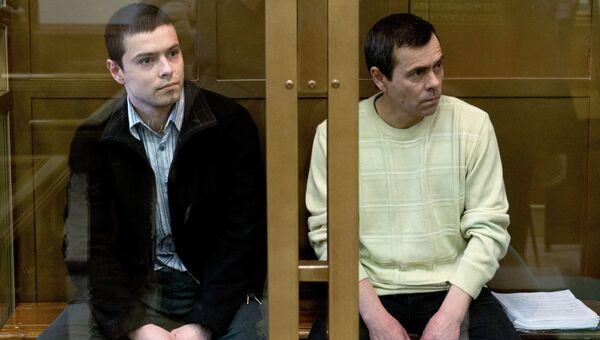 Обвиняемые в убийстве заместителя главы администрации Подольска Веры Свиридовой