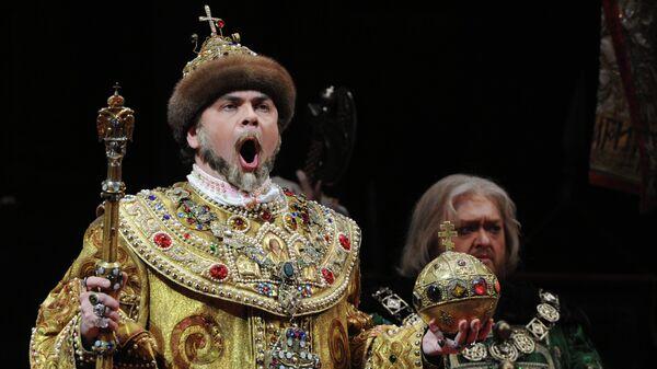 Прогон оперы Борис Годунов в Большом театре