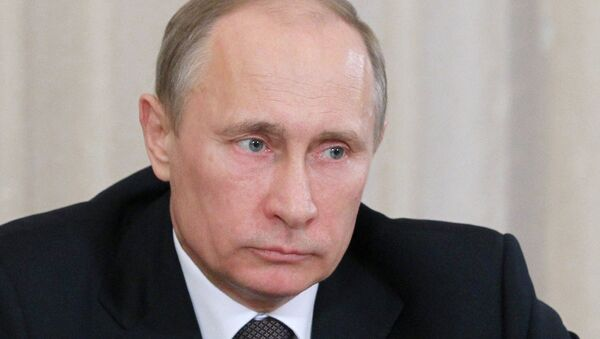 Президент РФ Владимир Путин . Архив