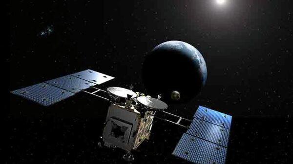 """Зонд """"Хаябуса-2"""" начал подготовку к сбросу бомбы на астероид Рюгю"""
