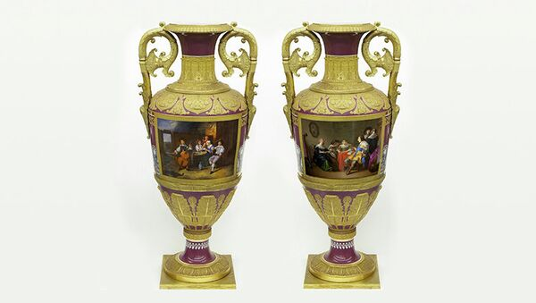 Российские императорские вазы