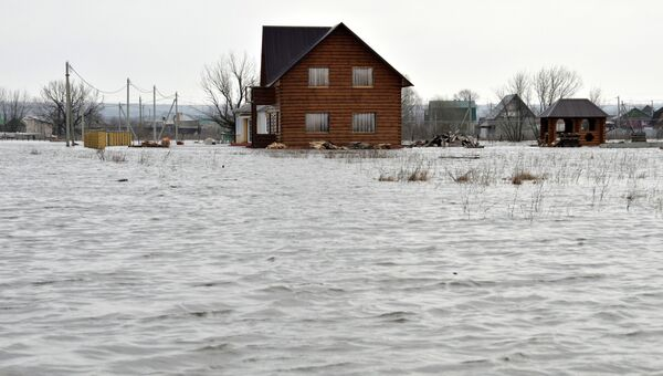 Последствия паводка в Тамбовской области