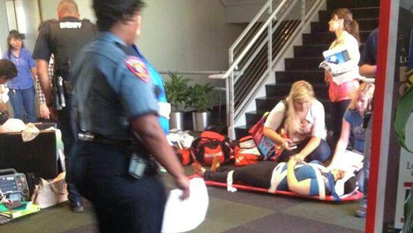 Первая помощь пострадавшим при нападении на колледж в Техасе