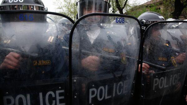 Усиленные наряды полиции в Армении