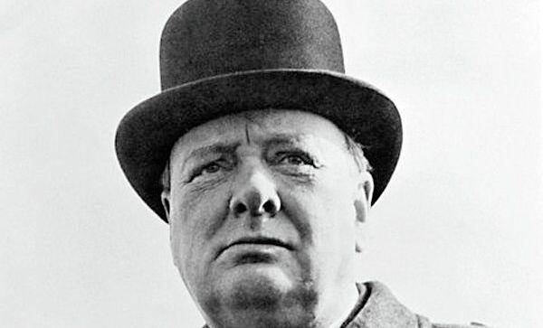 61-й премьер-министр Великобритании Уинстон Черчилль