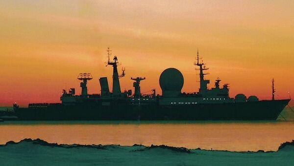 Корабль измерительного комплекса Маршал Крылов