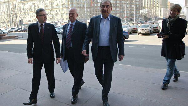 Делегация сирийской оппозиции прибыла в Москву