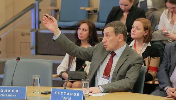 Сергей Хестанов принимает участие во Втором ежегодном Форекс форуме