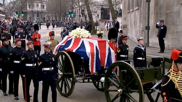 LIVE: Прямая трансляция церемонии прощания с Маргарет Тэтчер