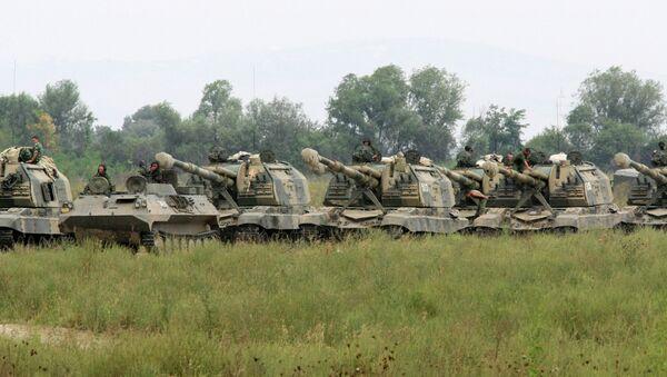 Тактические учения Сухопутных войск. Архив