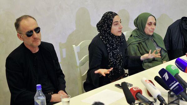 Пресс-конференция родителей братьев Царнаевых
