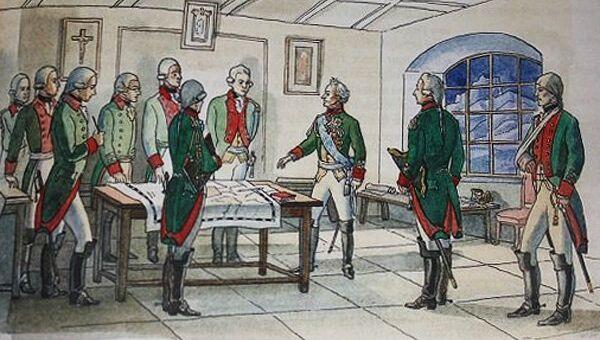 Иллюстрация из книги Якова Длуголенского О былых походах и сражениях