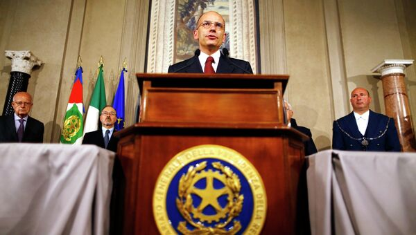 Премьер-министр Италии принес присягу